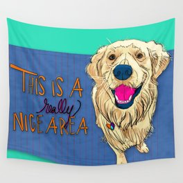 Gus Wall Tapestry