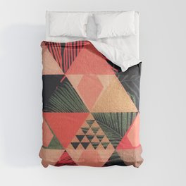 Abstract Art   Living Coral 1.0 Comforters
