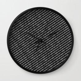 Binary Code DOS diagonal version Wall Clock