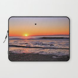 Gull in the Glow Laptop Sleeve