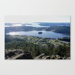 Puget Sound View Canvas Print