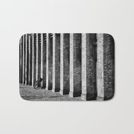Brick, Cobblestone And A Bike Bath Mat