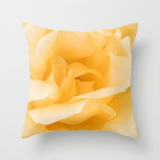 Vanilla Rose Throw Pillow