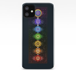"The Seven Chakras - Series ""Open Chakra"" II iPhone Case"