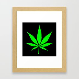 Weed : High times Framed Art Print
