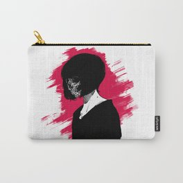 Red Anomie Carry-All Pouch