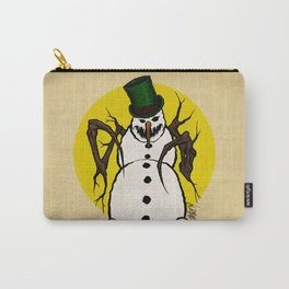 Sinister Snowman Carry-All Pouch