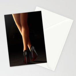 Legs on Heels Stationery Cards