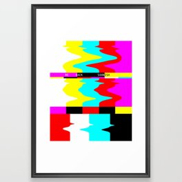 BE BACK SOONISH Framed Art Print
