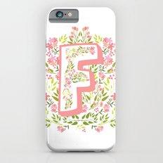 F Garden Monogram Slim Case iPhone 6s