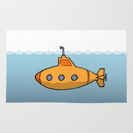 A submarine for exploring Rug