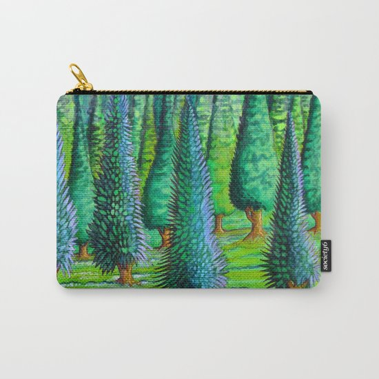 evergreen forest Carry-All Pouch