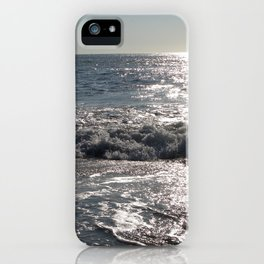 Summer Morning Surfer, Long Beach Island, New Jersey iPhone Case