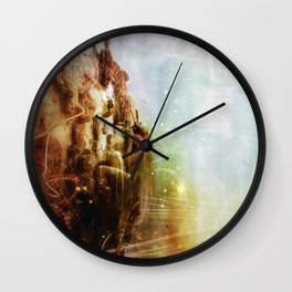 How to dsiappear completely Wall Clock