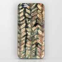 herringbone iPhone & iPod Skins featuring Herringbone by Janice MacDougall