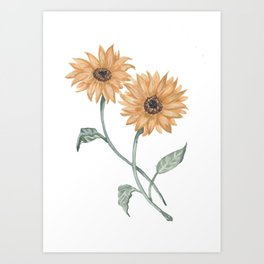 You are a sunflower Art Print