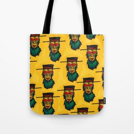 Beware the killer Amish! Tote Bag