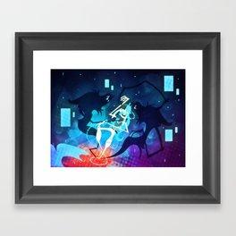 For Reason Framed Art Print
