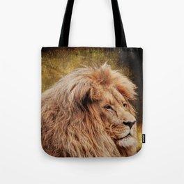 Wild Lion Carnivore Africa Tote Bag