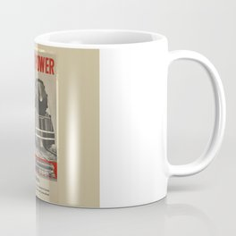 Train vintage Poster Coffee Mug