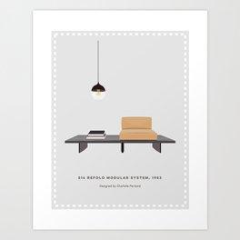 Modular Sofa System Art Print