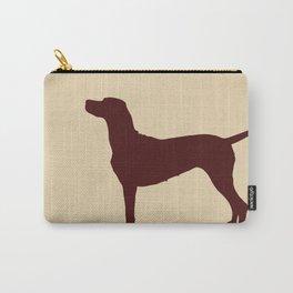Vizsla Dog Print Carry-All Pouch