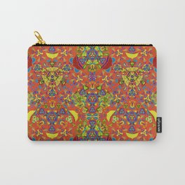 Retro blooming garden Carry-All Pouch