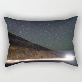 Night Traveler Rectangular Pillow