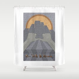 Perseverance - (Artifact Series) Shower Curtain