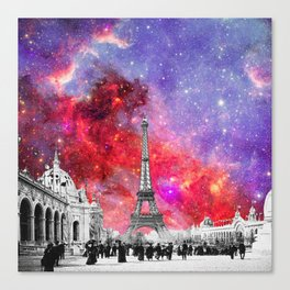 NEBULA VINTAGE PARIS Canvas Print