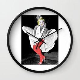 Marilyn 'Dress' Wall Clock