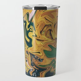 Melted Orchids Travel Mug