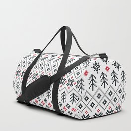HOLIDAY SWEATER PATTERN Duffle Bag