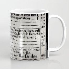 The Ironbridge Tolls Coffee Mug