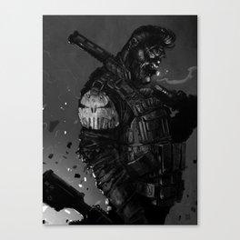 Gunner Canvas Print