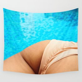 pool day pt1 Wall Tapestry