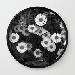 Erigeron Wall Clock