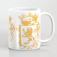narnia Mugs featuring King by John Choi King