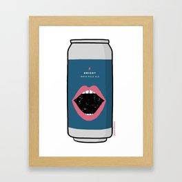 Bright - Garage Beer Framed Art Print