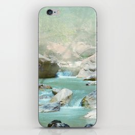 Emerald River iPhone Skin