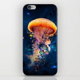 Electric Jellyish World iPhone Skin