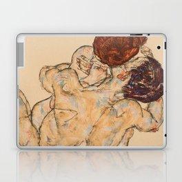 """Egon Schiele """"Mann und Frau, Umarmung"""" Laptop & iPad Skin"""