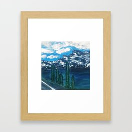 """""""Top of The Mountain"""" Framed Art Print"""