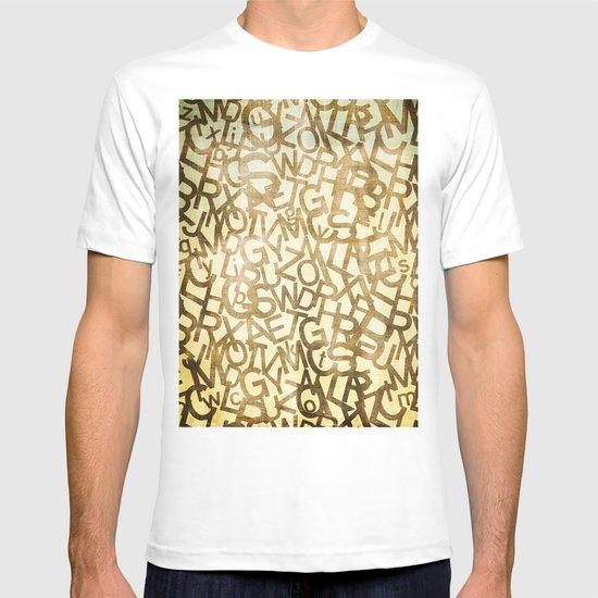 Din pattern T-shirt
