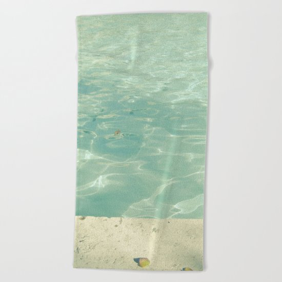Morning Swim Beach Towel