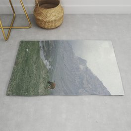 In the mountain Rug