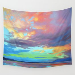 Sky Opus by Amanda Martinson Wall Tapestry