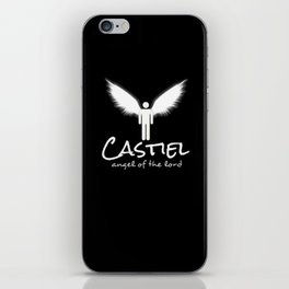 Castiel: Angel of the Lord iPhone Skin