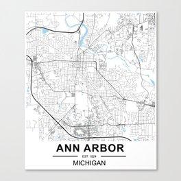 Ann Arbor, Michigan Canvas Print