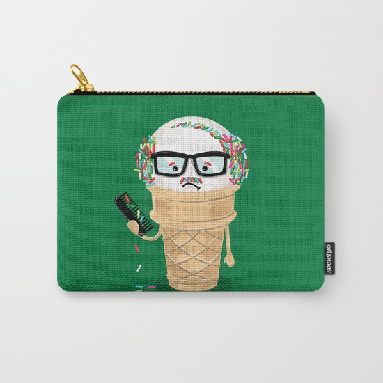 Ice Cream Coneover (Holiday Edition) Carry-All Pouch